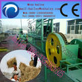 high efficiency and professional straw bundling machine