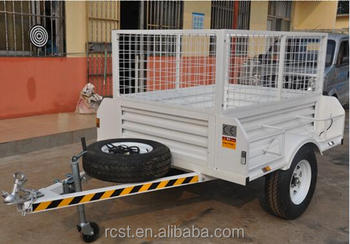 multifunctional caged trailer, box trailer