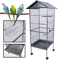 double bird cage,human sized bird cage,aviary cage for bird