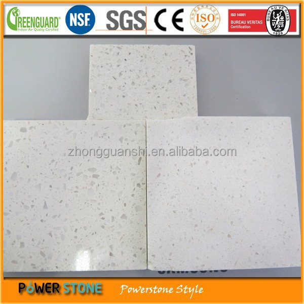 White Speckle Grain Quartz Stone