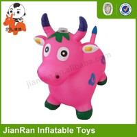 PVC inflatable toy ride on animals,ride on toy animal ,Colorful jumping ox