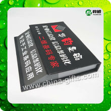 hard cover notepad with company logo printing