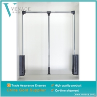 Hardware accessory stainless steel Closet Rod and Wardrobe Lift For Hanging clothes