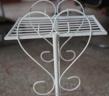 wrought iron tiered plant stands
