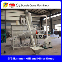 2016 Supply camel feed grinder and mixer, Powder feed making machine