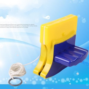 Household Compact Double Sided Cleaning Glass Sponge Wiper Window Cleaner Tools