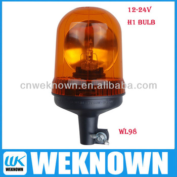 12/24V warning beacons, H1 Halogen bulb warning light ,muli-function LED warning beacons