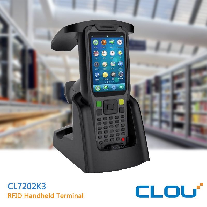 Handheld UHF android rfid reader with 1.4GHz CPU