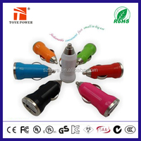 High Quality and Cheap 5v 1a Exquisite USB Car Mobile Charger