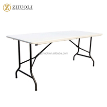 new design hdpe folding half outdoor events party dining table