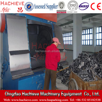 Q3210 buffing dust-free Tumble Belt Used Shot Blasting Machine / Polishing Machine