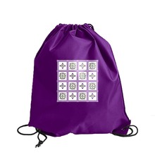 High Quality Polyester Insulated Drawstring Lunch Bag For Students