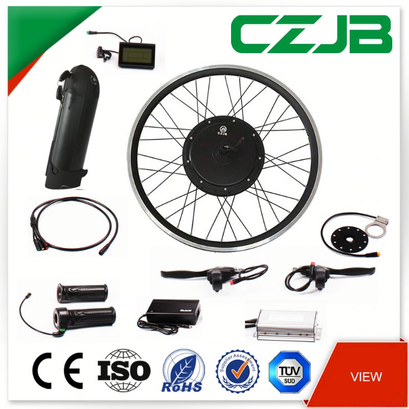 CZJB205-35 48V 1000W front or rear direct drive electric bike conversion kit