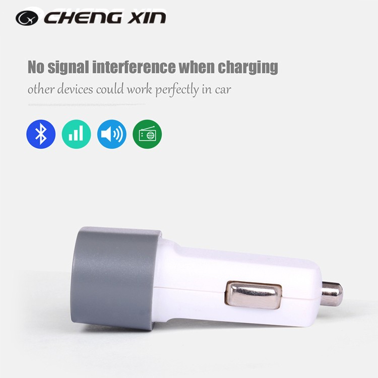Latest promotional portable usb car charger for cell phone for iphone 7 for ipad charging in stock