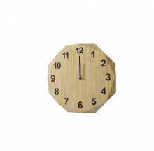 Wholesale creative designed wall clock wooden wall clock