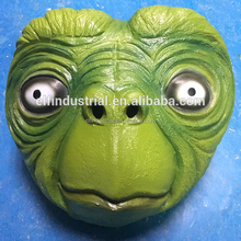 Factory Custom Full Face Frog Latex Masks Halloween Traditional Japanese Animals Head Latex Mask
