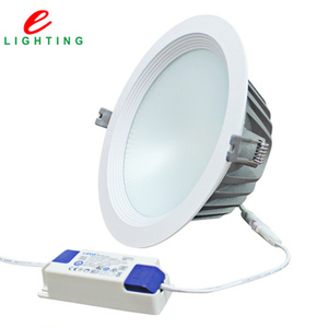 newest 10w 20w 30w 40W 4 6 8 10 12 Inch wholesaler price recessed commercial lighting cob driver on board downlights norge