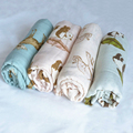 High Quality Warm Soft Floral Swaddle Blanket