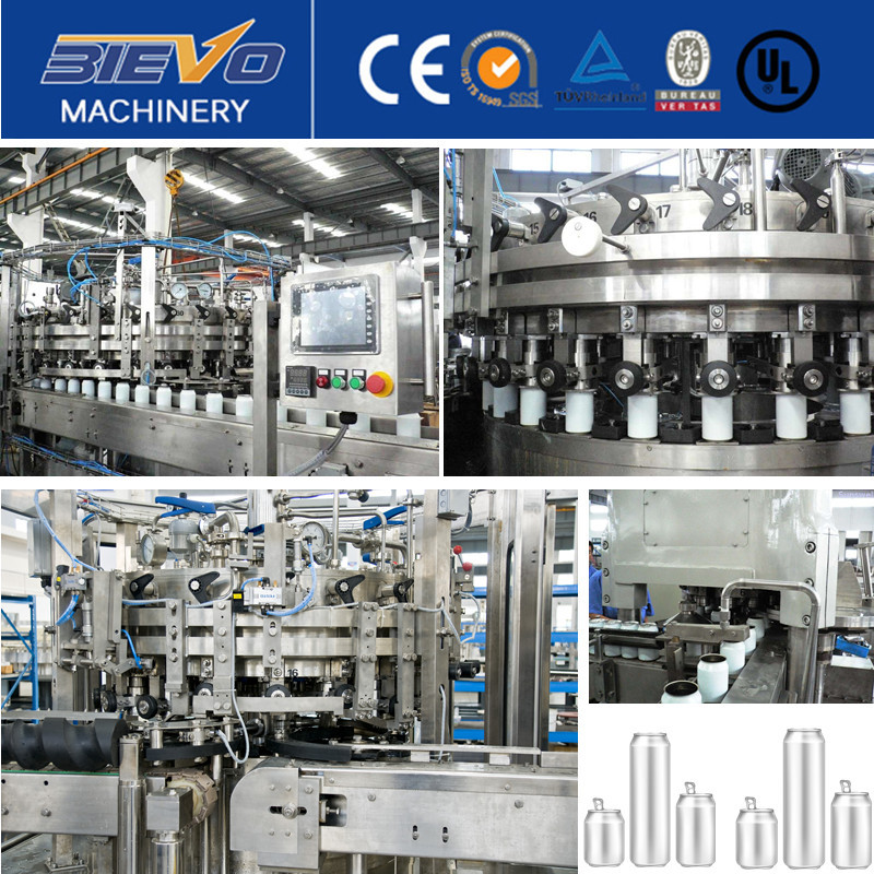 full Automatic beer canning line,good market beer canning line