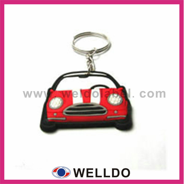2014 hot sale key chains with car logo