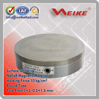 Strong Manual Permanent Magnetic Round Chuck