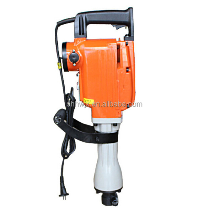 Concrete wall drilling machine electric demolition hammer drill price