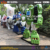China supplier amusement park robots movie model