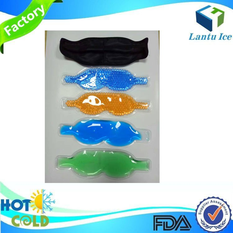Factory Cooling Beads eye mask Hot Cold Gel Eye Pack