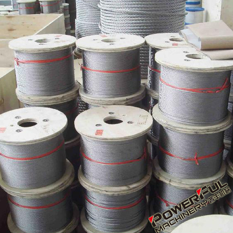 6mm Cutting Edge Aircraft rated Tensile Strength Steel Core Wire Rope Tools and Connections from Corporation