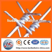 type of barbed fence iron wire mesh fence galvanized wire