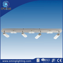 Industrial kitchen spot light suspended ceiling 7lt glass covers light fittings