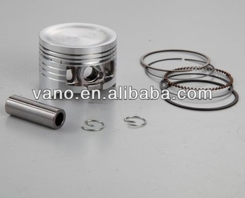 Factory sales motorcycle piston kit for wave125