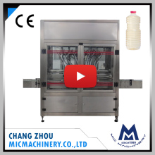 MIC high speed olive or lubricant oil cartridge glass bottle filling machine line