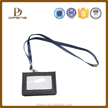 2017 Hot Selling badge Card Holder ID Card Holder Student Card Holder with Lanyard