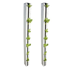 High Quality PVC Material Vertical Hydroponic System