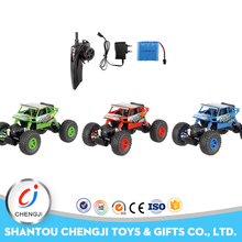 High Speed electric powered climbing 4x4 toy rc monster trucks for sale