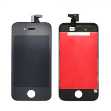 Factory price china mobile phone spare parts for iphone 4 lcd screen