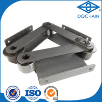 alibaba over loaded curved plate roller chain,custom precision roller chain made in china