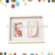 Baby handprint clay frame kit souvenir
