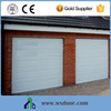 Low Noise Galvanized Steel Customized Remote Control Garage Door with Small Windows