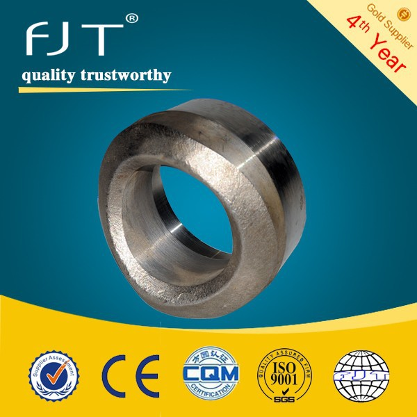 "1/2""-4"" CLASS 3000 forged a105 pipe fittings npt threaded outlet"