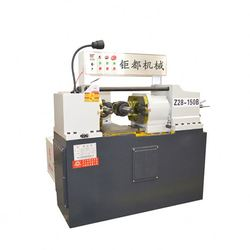 High precision taper angle thread rolling machine
