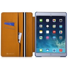 New arrival wallet flip leather case for Apple ipad 5 China cheap tablet pc