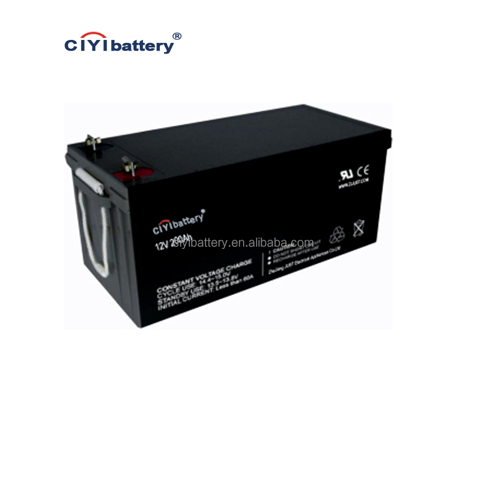 Long Life Solar System Battery Deep Cycle Battery 12v 200ah