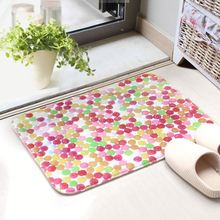 Customized Non Skid Printed Foam Bath Mat