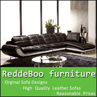 hot sale high quality modern rattan sofa furniture, genuine leather sofa sets, europe thick leather modern sofa