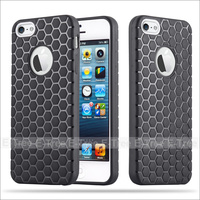 Soft Hexagon TPU Football Lines Phone Case Cover For Apple iphone5