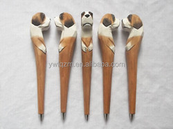 2014 new fashion wood animal pet dog carven pen