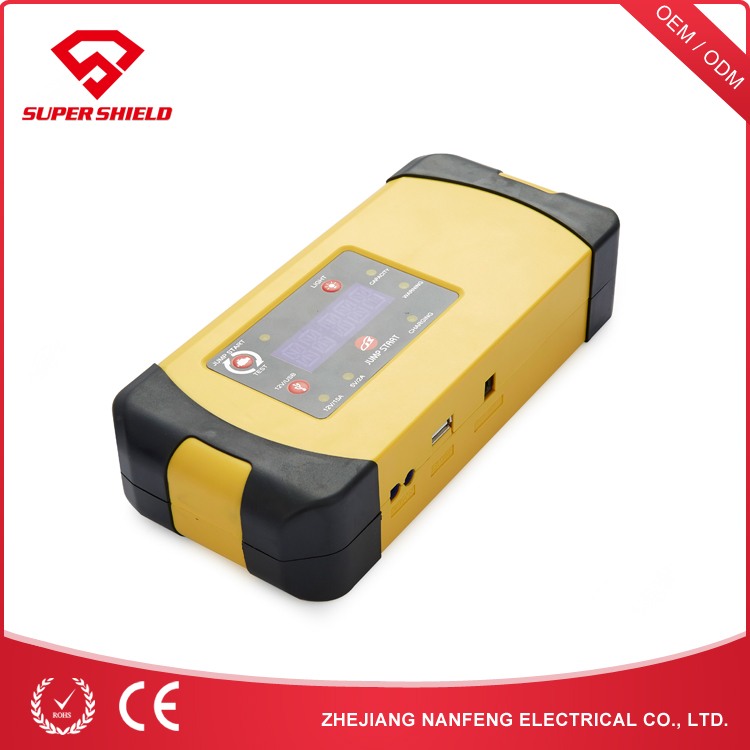 NANFENG Portable Car Battery Charger 12V Jump Start Power Bank 18000 Mah