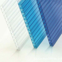 PC Polycarbonate two wall hollow sheet building materials